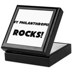 MY Philanthropist ROCKS! Keepsake Box