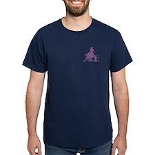 Barrel racing in purple T-Shirt
