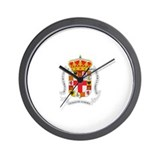 Unique Heraldry Wall Clock