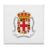 Cool Spain Tile Coaster