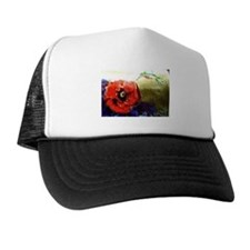 Hummingbird & Poppy Trucker Hat