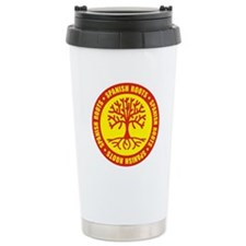 Spanish Roots Ceramic Travel Mug