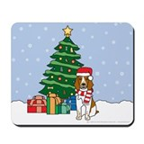 Welsh Springer Christmas Mousepad