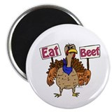 Eat Beef 2.25&quot; Magnet (100 pack)