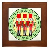 Nutcracker Ballet Framed Tile