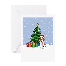 Welsh Springer Holiday Greeting Card