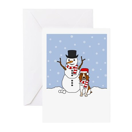 Welsh Springer Christmas Greeting Cards (Pk of 10)