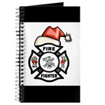 Christmas Firefighter Journal