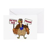 Eat Duck Greeting Cards (Pk of 10)
