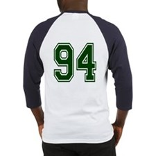 NUMBER 94 BACK Baseball Jersey