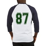NUMBER 87 BACK Baseball Jersey