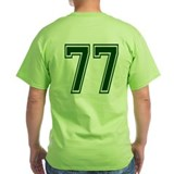 NUMBER 77 BACK T-Shirt