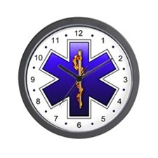 Star of Life(EMS) Wall Clock