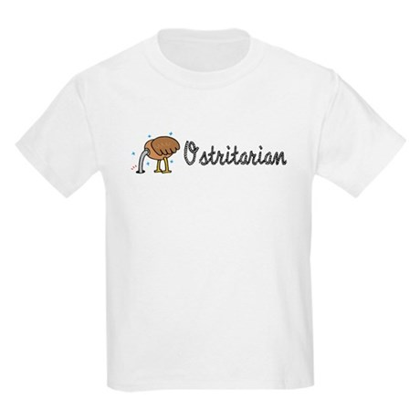 Ostrich Ostritarian Kids Light T-Shirt
