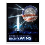 "Obama Victory Poster (19""x16"")"