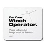 Winch - Beer Mousepad