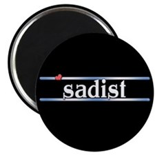 "Sadist 2.25"" Magnet (100 pack)"