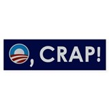 O, CRAP! Bumper Sticker (50 pk)