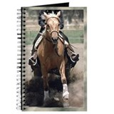 Reining Horse Slide Journal