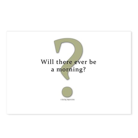 Will there ever be a morning? Postcards (Package o
