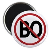 "No BO - NObama 2.25"" Magnet (100 pack)"
