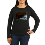 Darkside of Precious the DOG Women's Long Sleeve D