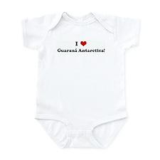 I Love Guaran Antarctica! Infant Bodysuit