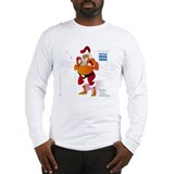 Battle Over Xmas: Santa Claus Long Sleeve T-Shirt