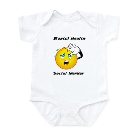 Mental Health Social Worker Infant Bodysuit