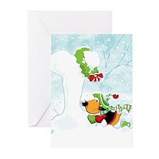 Snow Bone Greeting Cards (Pk of 20)
