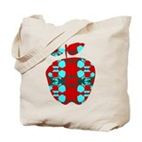 Arty Applemania Tote Bag