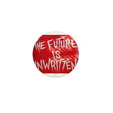 The Future is Unwritten Mini Button