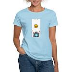 WTD: Big Face Women's Light T-Shirt