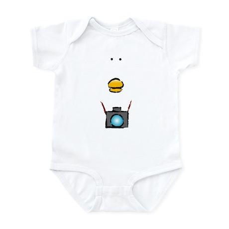 WTD: Big Face Infant Bodysuit