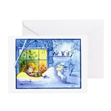 Santa's Arrival Greeting Cards (Pk of 10)