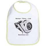 Boost Gear - 70mm + Club - Racing Baby Bib