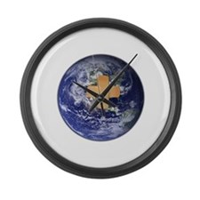Funny Healing Large Wall Clock