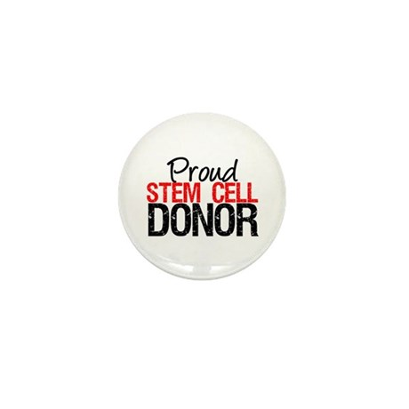 Proud Stem Cell Donor Mini Button (10 pack)