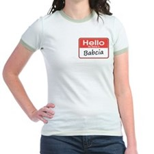 Hello, My name is Babcia T