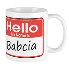 Hello, My name is Babcia Mug