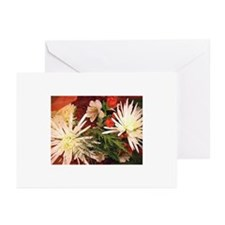 Winter  Bouquet Greeting Cards (Pk of 10)
