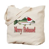 Merry Fishmas Tote Bag