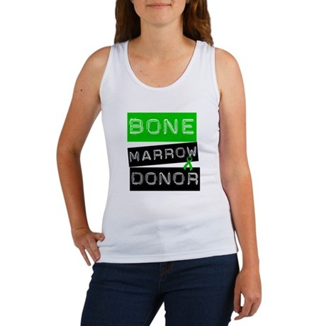 Bone Marrow Donor (Label) Women's Tank Top