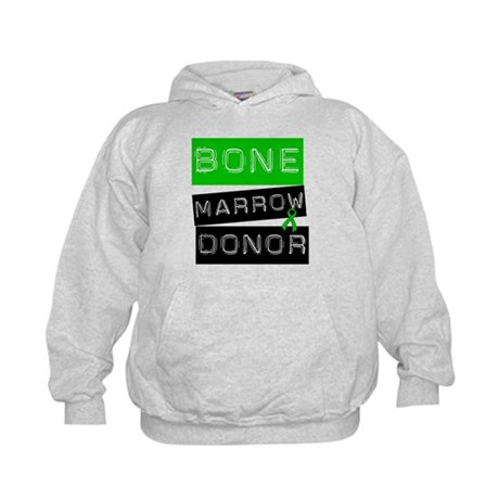 Bone Marrow Donor (Label) Kids Hoodie