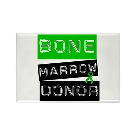 Bone Marrow Donor (Label) Rectangle Magnet