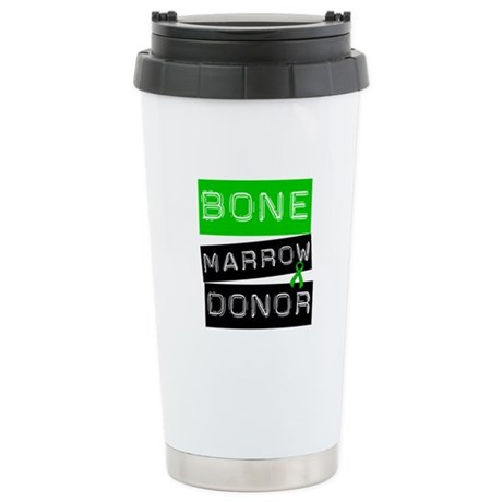 Bone Marrow Donor (Label) Ceramic Travel Mug