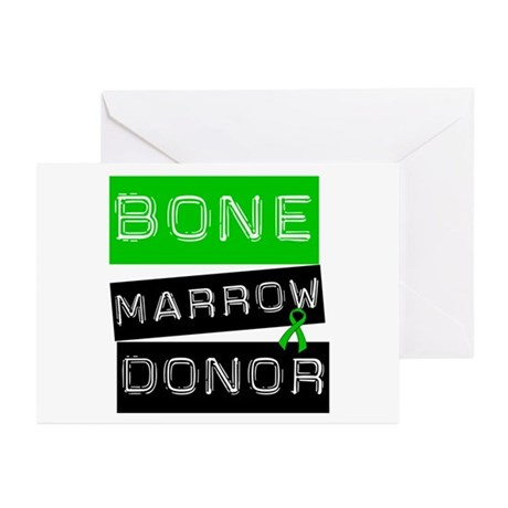 Bone Marrow Donor (Label) Greeting Cards (Pk of 10