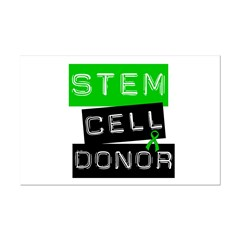 Stem Cell Donor (Label-G) Mini Poster Print