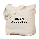 Alien Abductee Tote Bag
