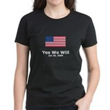 Funny Yes we will Tee